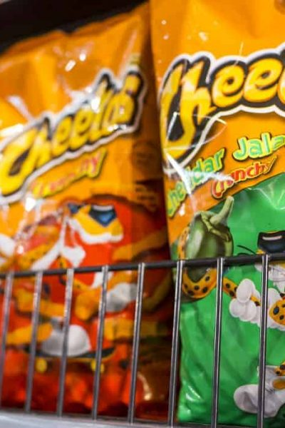 spicy cheetos while pregnant