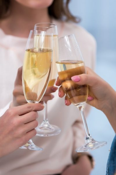 champagne while pregnant