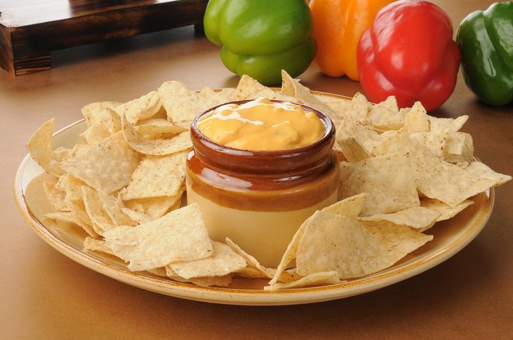 salsa con queso